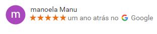 Avaliação Caribe Motel Google Review - Manoela Manu